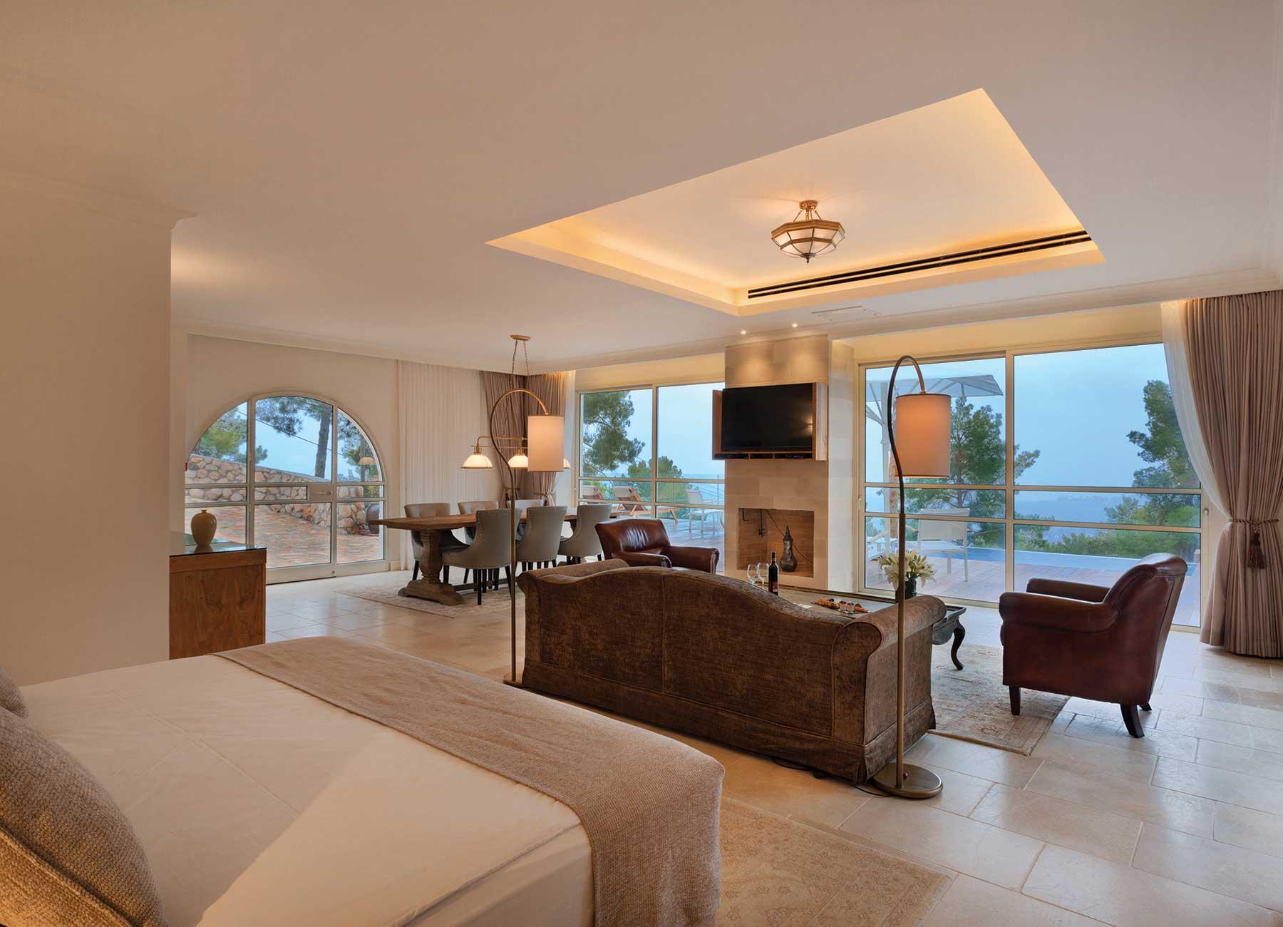 וילה נשיאותית במלון הרברט סמואל בית בגליל בוטיק