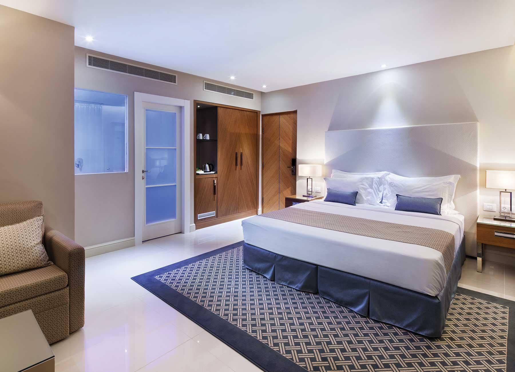 חדר דלקס במלוןהרברטסמואל הריף אילת