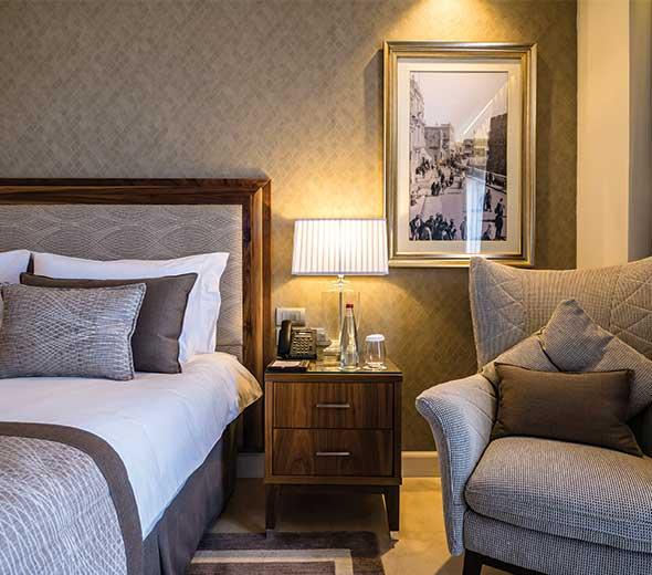 חדר במלון הרברט סמואל ירושלים