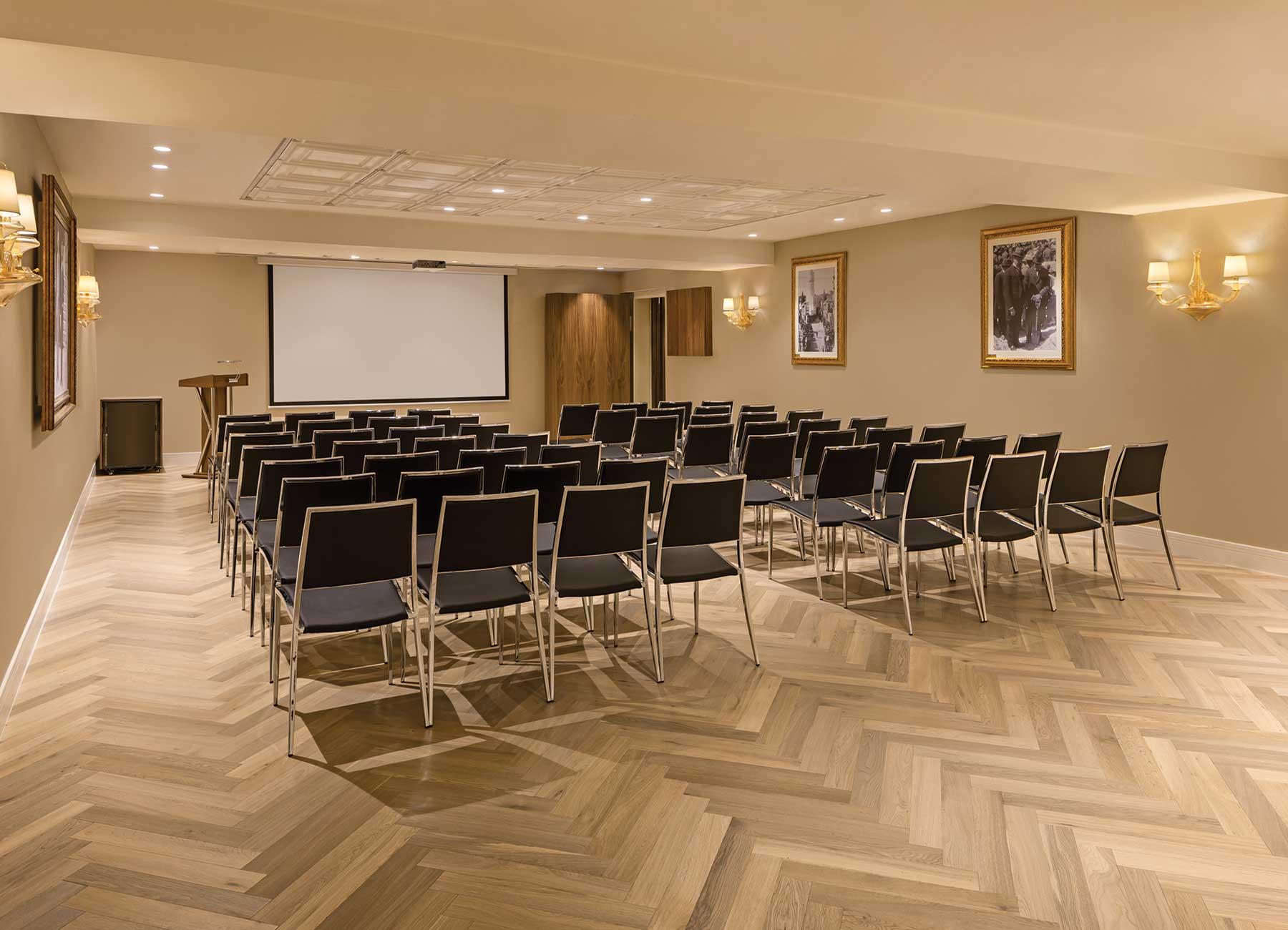 חדר ישיבות במלון הרברט סמואל ירושלים