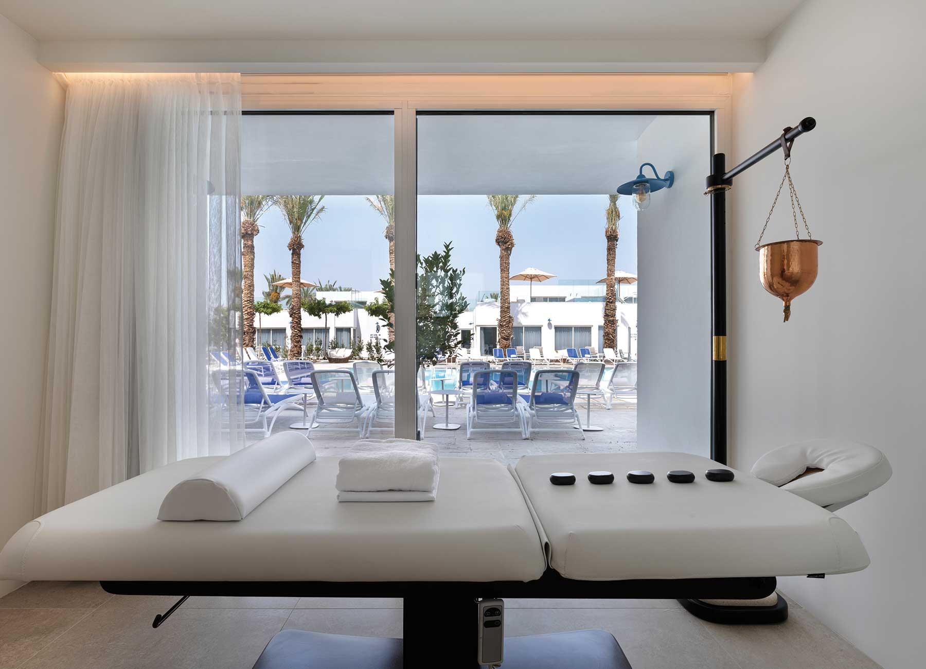 חדר טיפולי ספא במלון מילוס ים המלח