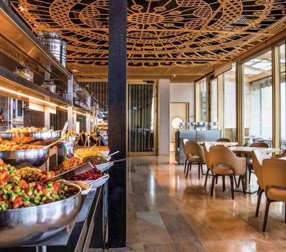 מסעדת מלון הרברט סמואל ירושלים