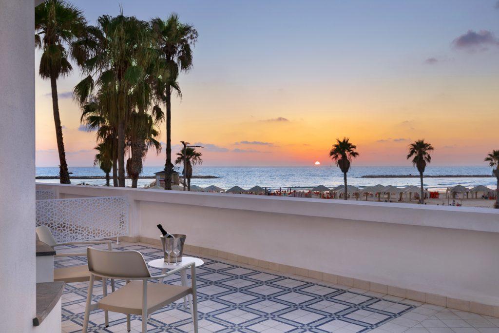 The Herbert Tel Aviv Hotel Room Balcony