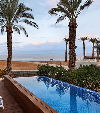Milos Dead Sea Hotel with-a Private Pool