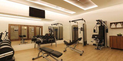 חדר כושר במלון אופרה הרברט סמואל תל אביב