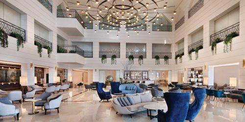לובי במלון אופרה הרברט סמואל תל אביב